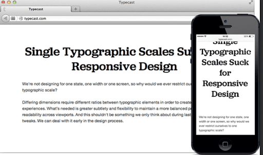 19 consejos de tipografía para diseñar una Web móvil