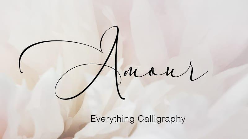 Fuentes de caligrafía gratuitas y atemporales