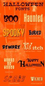 Fuentes gratuitas e indispensables para Halloween