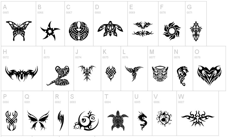25 Fuentes de tatuaje gratuitas